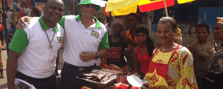 Nandu Nandkishore Doing Market Research